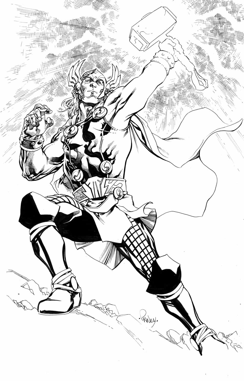 Thor by TomRaney