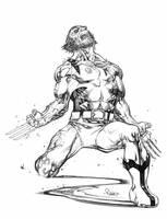 Wolverine.howl by TomRaney