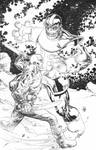 Thanos vs Drax!