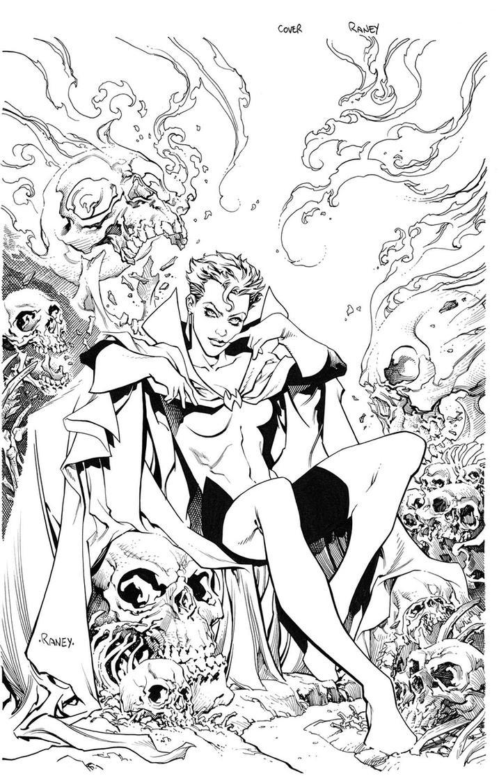 Scarlet Witch by TomRaney