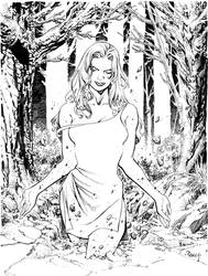 Rachel Rising.ink by TomRaney