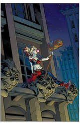 Harley Quinn.variant cover.color