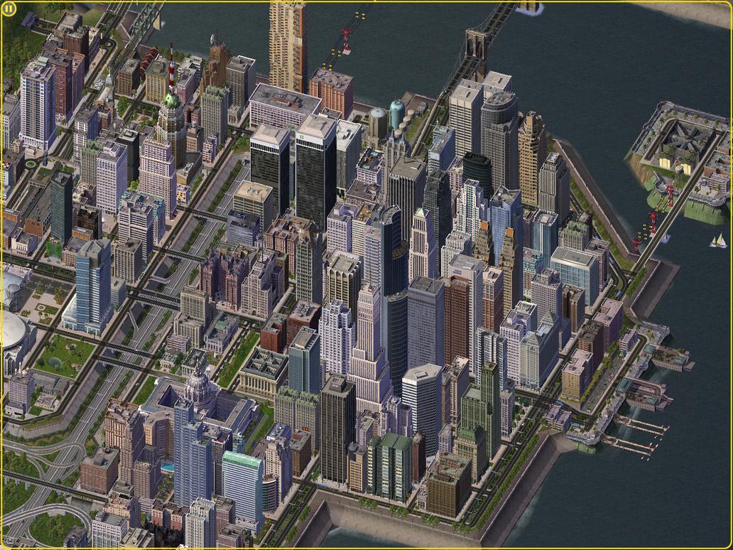High Tech Building Mod City Skyline Download