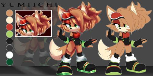 Twister The Fox ~ADOPT~ by Yumiichu