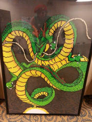 Rock the Dragon! - Shenron the God Dragon by rachelsdreamland