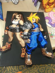Get ready for the AVALANCHE! - Cloud and Tifa