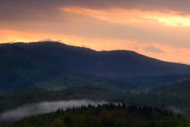 passing clouds in Gorski Kotar