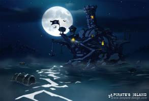 L'ile des pirates by slempens
