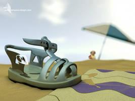 La sandalle d'Owen by slempens