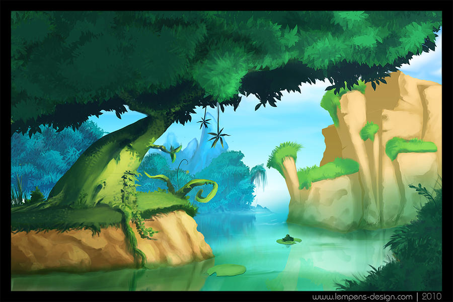 FroggyBay Island by slempens