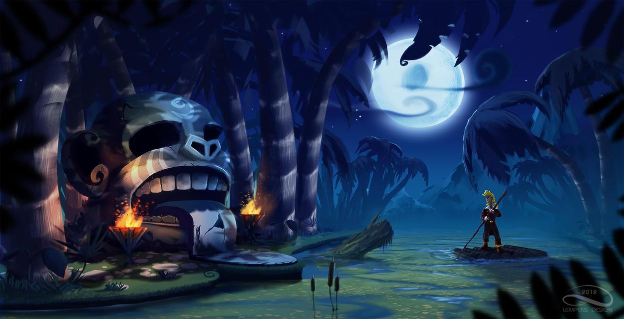 Monkey Island 2012 by slempens
