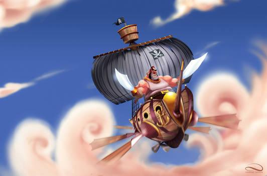The air pirate !