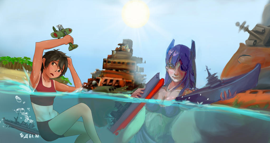 SHIPS SHIPPING SHIPS by Waraiko
