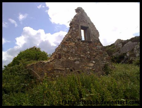 Howth ruins