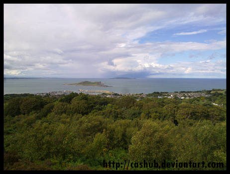 Howth harbor view 2
