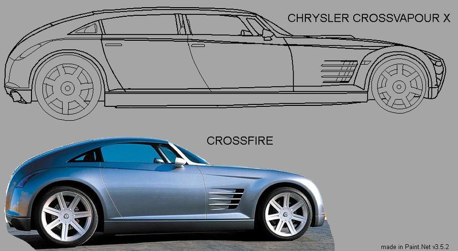 The Chrysler CROSSVAPOUR X
