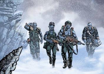 Rogue snow walk by stevendenton