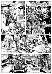 Judge Dredd: City's Bones Page 4. by stevendenton