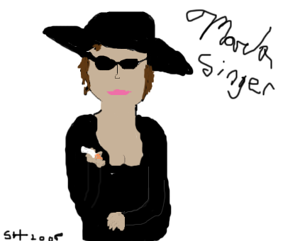 Marla Singer by takeela