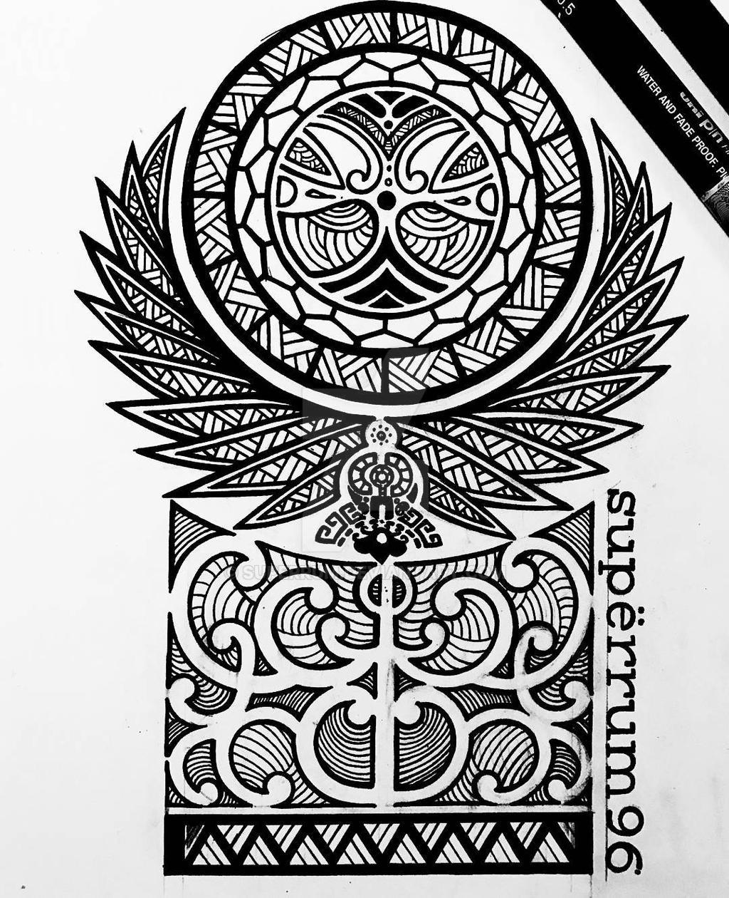 Maori Tattoo Design Wallpaper Wp300369: Maori Design By SuperRum On DeviantArt