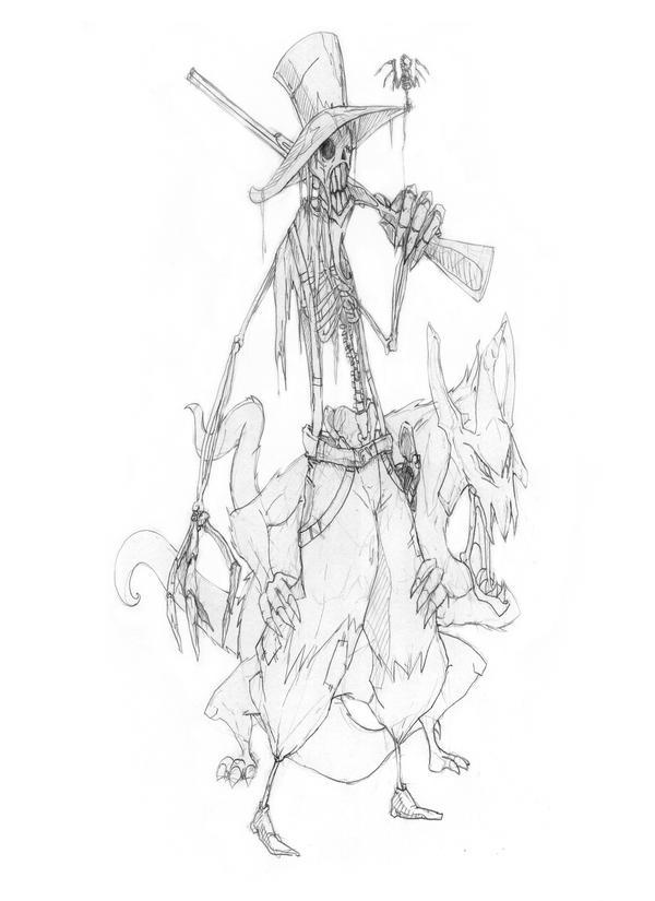 Skeleton Hunter by Gx89