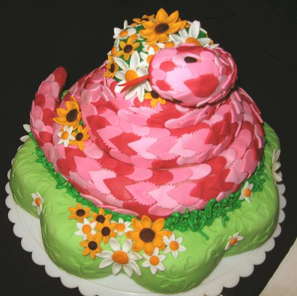 Snake Cake By Cakelover88 On Deviantart