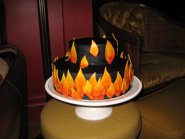 Flame Cake By Cakelover88 On DeviantArt