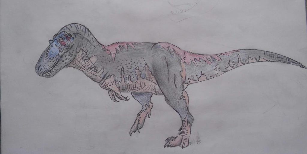 JP Tarbosaurus by TyrannosaurusLives00