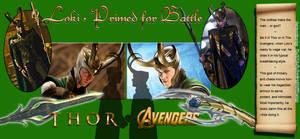 Loki: Thor vs. Avengers (armor) by D-AMJ-C