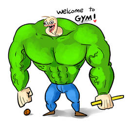 welcome to GYM by sentryworm