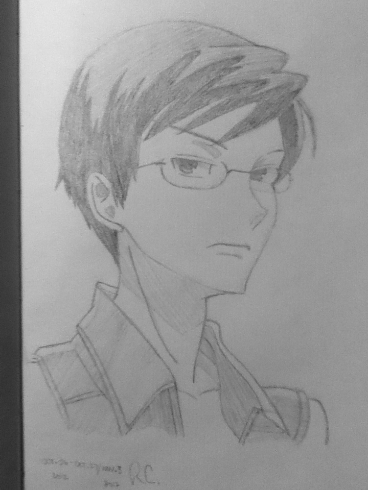 Kyoya Ootori by Wacky-Apollo-Witch