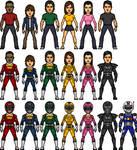 Power Ranger Turbo Movie Armor
