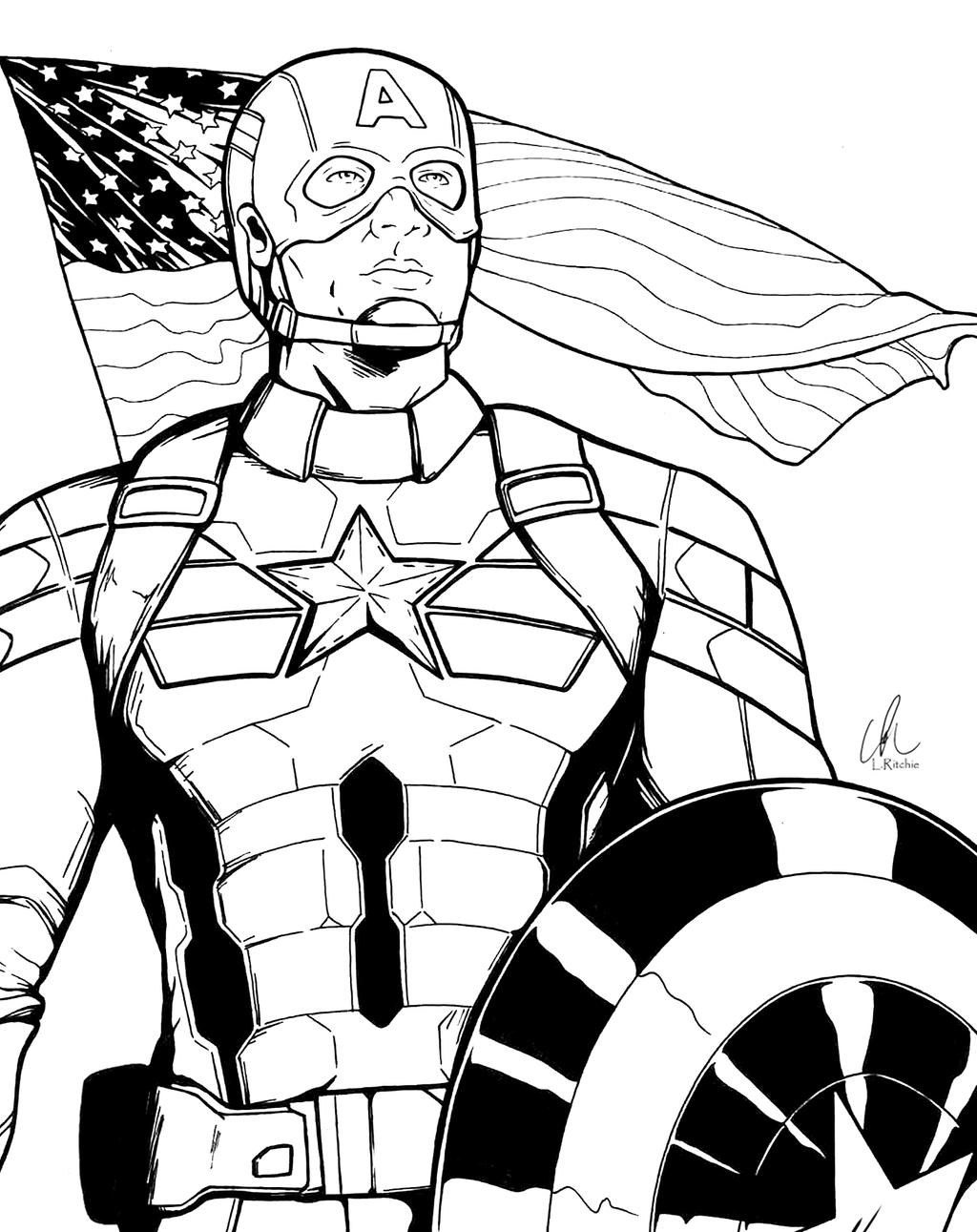 Captain America Winter Soldier By Shepard137 On DeviantArt