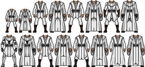 Jedi Tunic Templates by Shepard137