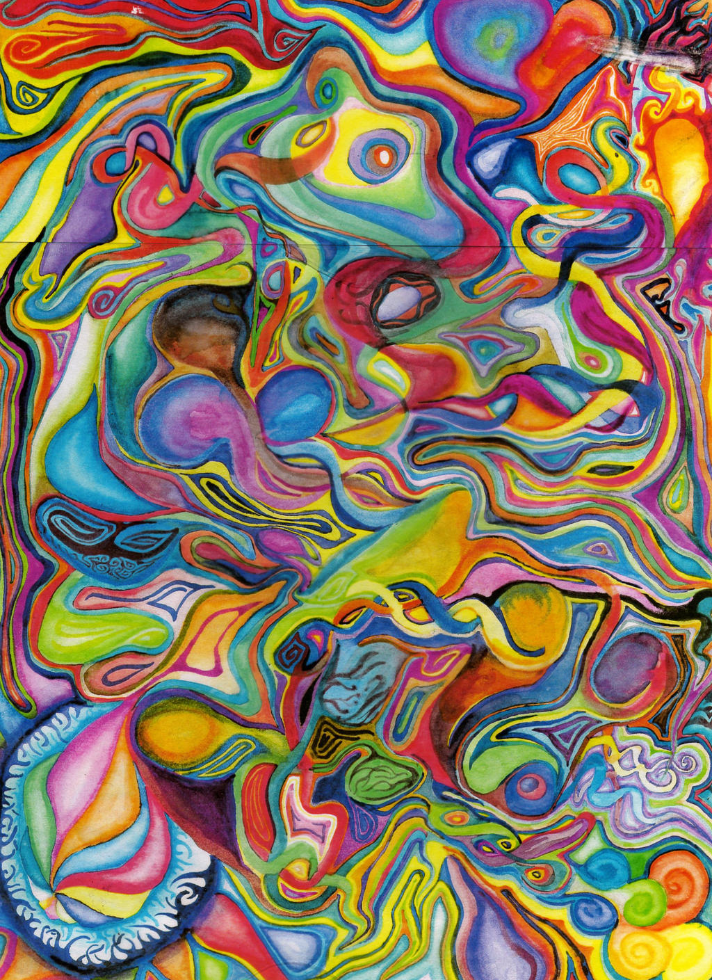 Abstract watercolor by cottrellbriank on deviantart for Cool watercolour