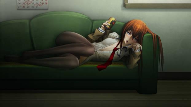 Drunk Kurisu