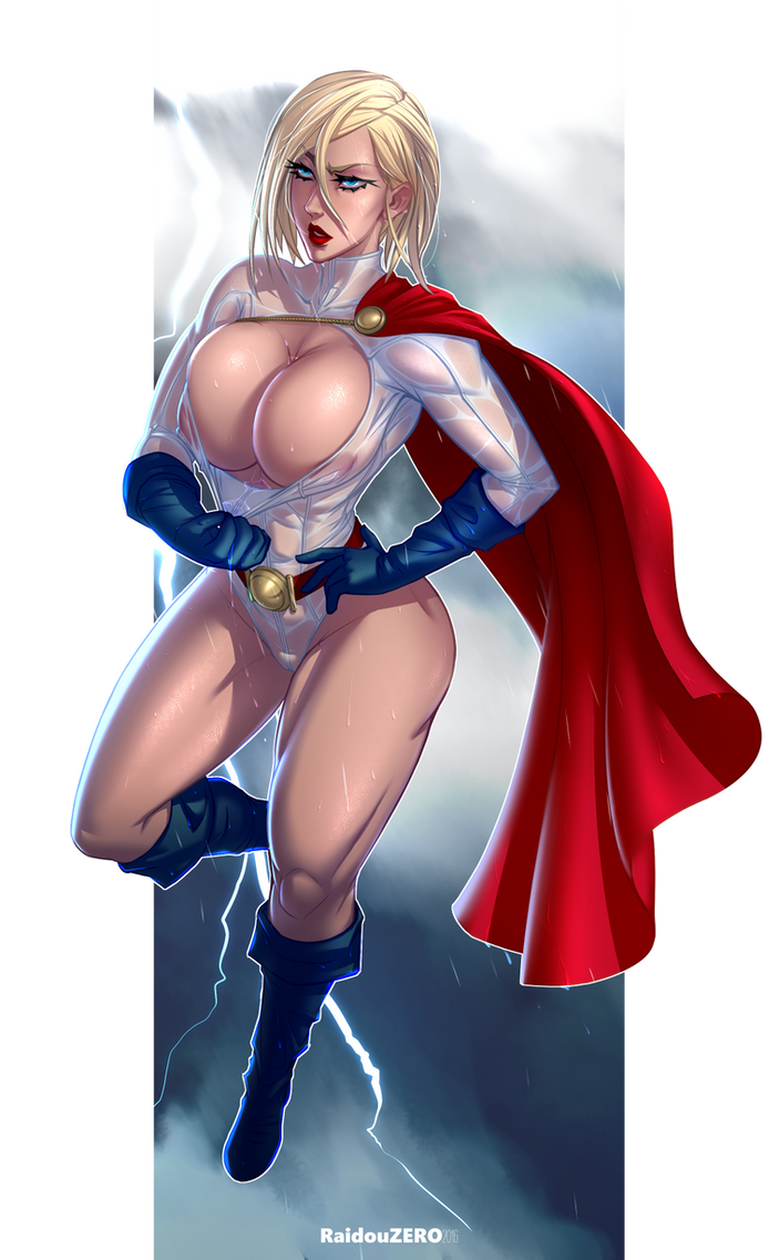For nude photos of power girl good idea