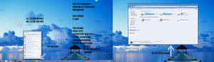 Azul Visual Style for Win7 Preview