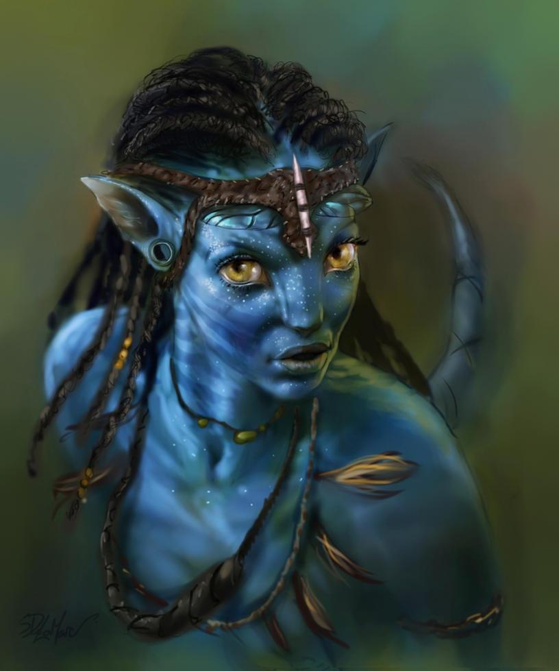 Neytiri Na'vi by SteveDeLaMare