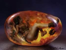 Amber by SteveDeLaMare