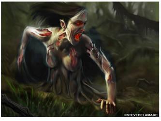 Supernatural Cry of the Banshee by SteveDeLaMare