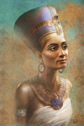 Nefertiti by SteveDeLaMare