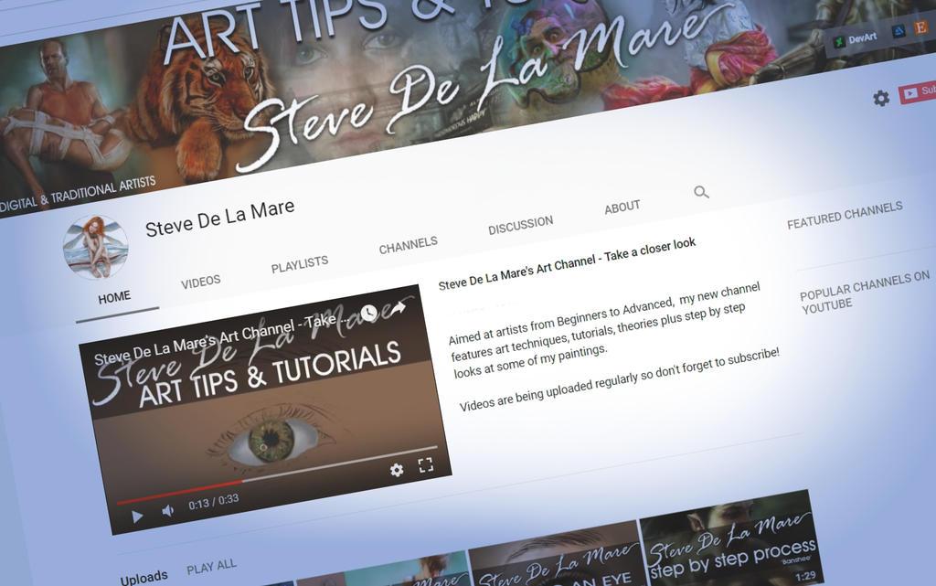 youtubeChannel by SteveDeLaMare