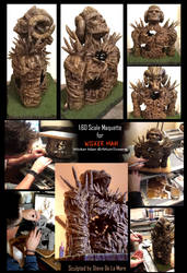 Wicker Man Maquette by SteveDeLaMare
