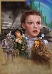 Wizard of Oz by SteveDeLaMare