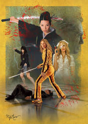 Kill Bill by SteveDeLaMare