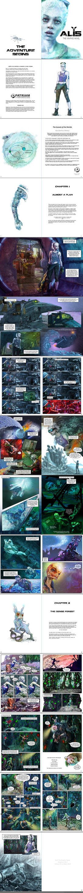 ALI5 The Graphic Novel first chapters by SteveDeLaMare