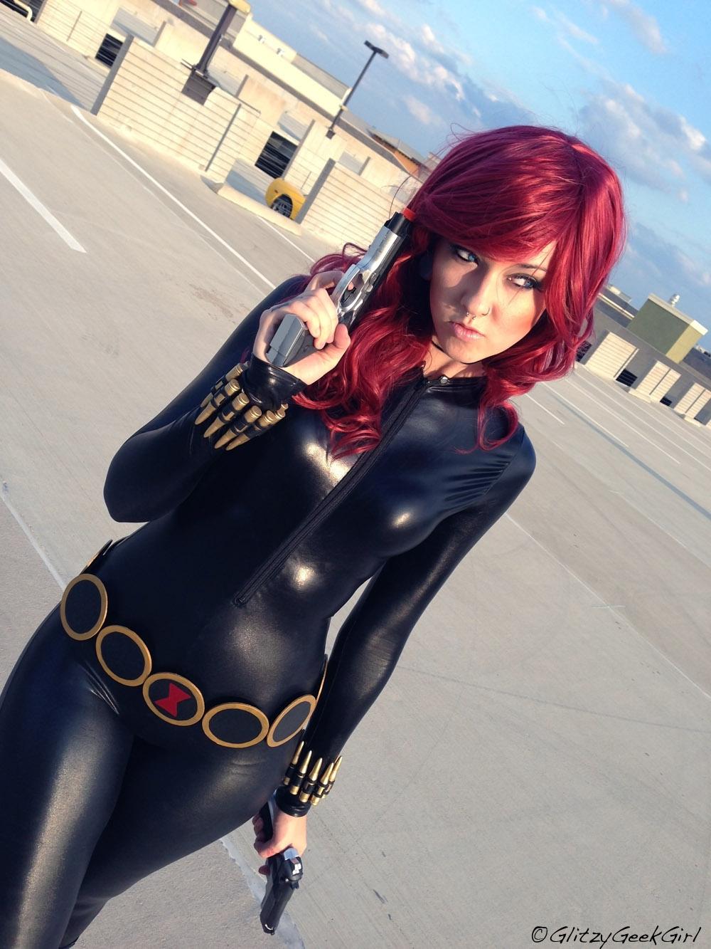 Black Widow Cosplay by glitzygeekgirl