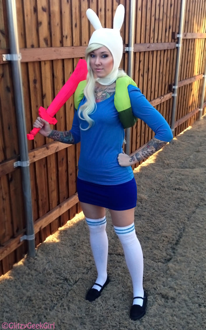 Fionna And Cake Cosplay Costumes