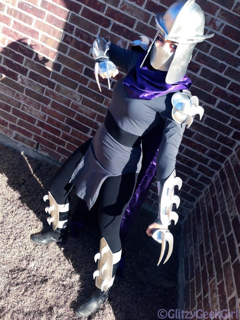 Shredder from TMNT Cosplay by glitzygeekgirl ... & Shredder from TMNT Cosplay by glitzygeekgirl on DeviantArt
